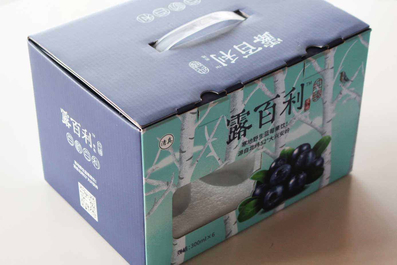 饮料彩箱包装——露百利