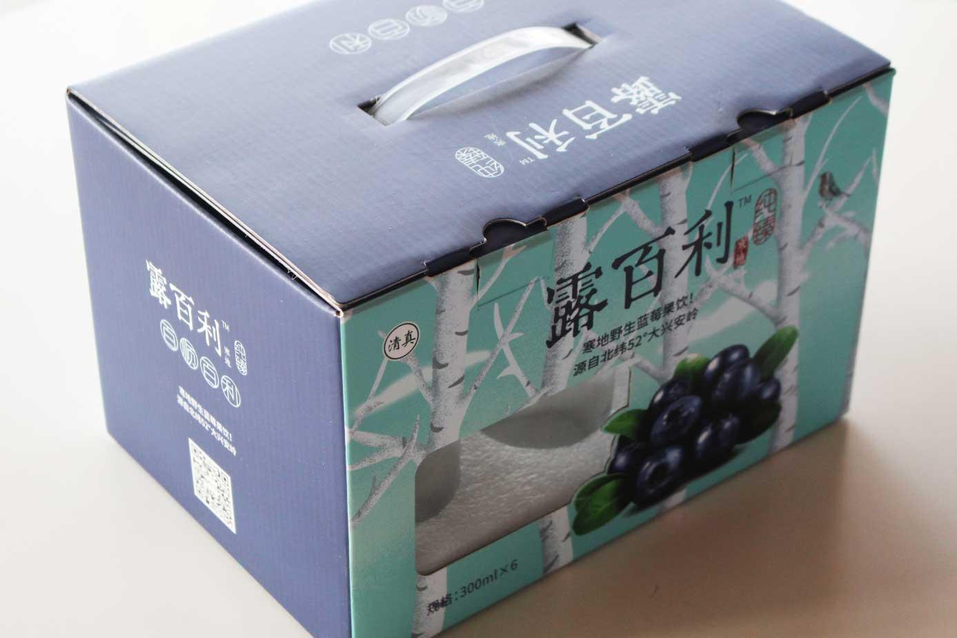 饮料彩箱包装